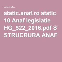 static.anaf.ro static 10 Anaf legislatie HG_522_2016.pdf STRUCRURA ANAF