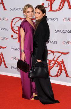 2012 CFDA Fashion Awards  Ashley and Mary-Kate Olsen