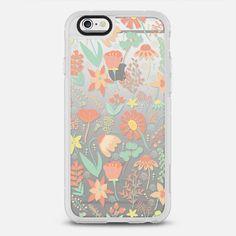 Peachy Keen Wildflowers - New Standard Case