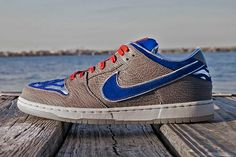 Jbf Customs – Great White Shark Dunk Low