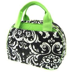 Cute! Quilted Damask Backpack or Matching Insulated Lunch Bag You Choose!