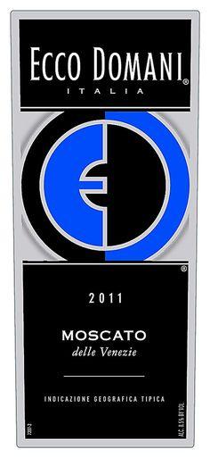 10 Top Sweet Moscato Wine Picks: Ecco Domani Moscato 2011 (Italy) $11