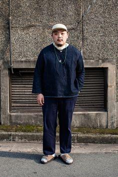 SHIRT   BUKHT PANTS   LOLOPIANA SHOES   ANA-TECH HAT   HENDER SCHEME Street Style Kim Chaehoon, Busan