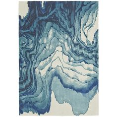 nuLOOM Modern Abstract Vintage Turquoise Rug (5'3 x 8')   Overstock.com Shopping - The Best Deals on 5x8 - 6x9 Rugs