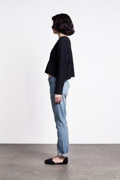 Image of Thvm Atelier Boyfriend Jean