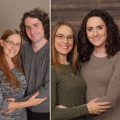 """staciecd: """"i wish i had the names of this couple but she (right) has been on HRT for one year. """""""