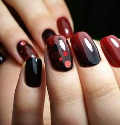Fall square nails 2018 is an extraordinary way. Diversify the style and capacity of habits to fit the latest trends. Nail art is a fun and unique method to organize your appearance with simple additions. Cute Nail Art Designs, Short Nail Designs, Nail Polish, Pretty Nail Art, Square Nails, Stylish Nails, Elegant Nails, Chic Nails, Red Nails