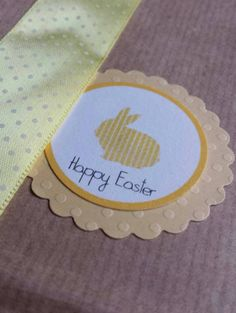 4 sacchetti kraft happy Easter