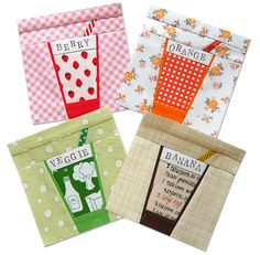 How much fun are these juice glass quilt blocks?!