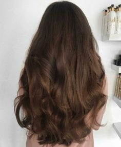 ideas hair waves soft highlights for 2019 Hair Color Dark, Cool Hair Color, Dark Hair, Color Blue, Hair Goals Color, Blue Green, Ombre Hair, Balayage Hair, Brown Balayage