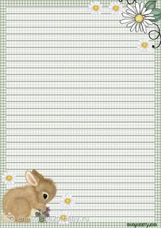 bunny stationery