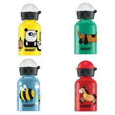 coolest lunch box accessories: SIGG mini water bottles
