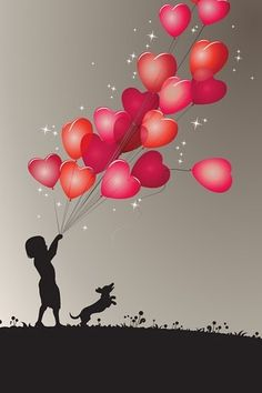 Love heart balloons iPhone wallpapers, Background and Themes I Love Heart, Happy Heart, Love Wallpaper, Iphone Wallpaper, My Funny Valentine, Valentines, Heart Balloons, Heart Art, Love Is All