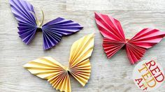 "We have made a Simple Origami Butterfly before, but this easy paper butterfly, I think is indeed EVEN EASIER! Strictly speaking these are not ""pure"" origami, as there is a little cutting involved, as well as the need for a little bit of string or glue. But I still think it is a great paper …"