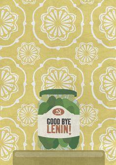 Mi versión del póster de 'Good Bye, Lenin'. María Puerta