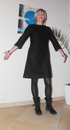 Foto zu Schnittmuster Shiftdress - knielanges Kleid von Burda