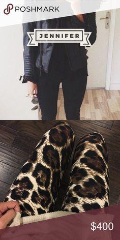 Jennifer -Leopard Knit Leggings (One Size)  $18 before bundle discount applied  Checkout TBD by preorder arrival Viscosity Pants Leggings
