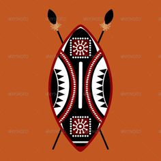 Buy Masai Shield Vector Designs by ragerabbit on GraphicRiver. Masai Shield Vector Designs This set is a vector illustration and can be scaled to any size without loss of resolutio. African Logo, African Symbols, African Tattoo, African Tribes, African Patterns, African Americans, Arte Tribal, Tribal Art, Shield Tattoo
