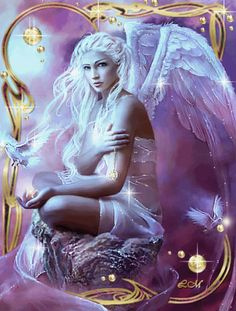 Animated Angels, Mystical, Fantasy, Animated Graphics gif by Keefers_ | Photobucket