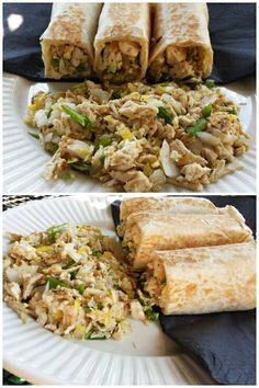 CHICKEN KELAGUEN WRAPS