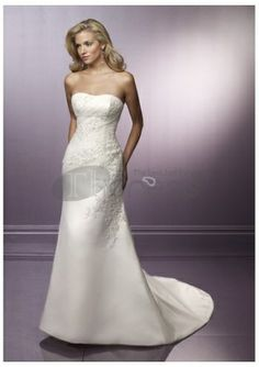 wedding dresses wedding dresses a line wedding dresses romantic 2013  captivating strapless applique empire wasit satin chapel train wedding dress 17b8008dbf0a