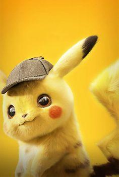 Pokémon: Detective Pikachu poster, t-shirt, mouse pad Pikachu Pikachu, Deadpool Pikachu, Pikachu Tumblr, Cute Pokemon Wallpaper, Cute Disney Wallpaper, Cute Cartoon Wallpapers, Cartoon Cartoon, Iphone Cartoon, Pikachu Adorable