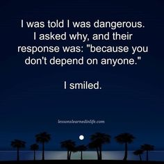 I am not an intj, but I do not depend on anyone. Intj And Infj, Infp, Introvert, 365 Quotes, Success Quotes, Life Quotes, Qoutes, Quotes Women, Work Quotes
