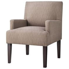 Dolce Upholstered Accent Arm Chair- Tan Love the pattern.