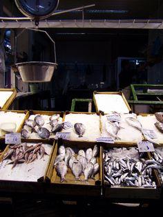 fish market, Thessaloniki Greece Thessaloniki, Greece, Fish, Grease