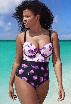 0b270b1265d76 SwimsuitsForAll - GabiFresh for s4a GabiFresh for Swim Sexy The Lady G H Underwire  Swimsuit