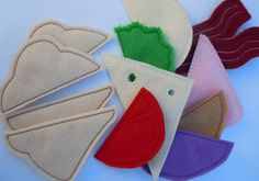 Felt Play Food Half Sandwich Set  Machine by SewPinkDesigns, $12.00