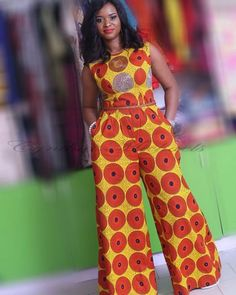 Gorgeous Clothes on africa fashion 286 Ankara Dress Styles, African Dresses For Women, African Print Dresses, African Fashion Dresses, African Attire, African Inspired Fashion, African Print Fashion, Africa Fashion, African Print Jumpsuit