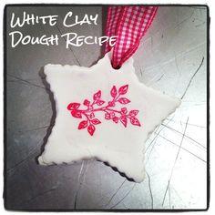 Bright White Clay Dough Recipe