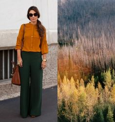 a great fall look