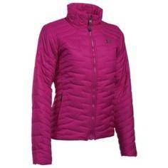 Under Armour ColdGear Reactor Jacket for Ladies - Magenta Shock - XL
