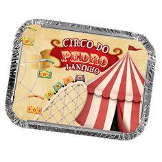 Marmitinhas Personalizadas Festa Circo