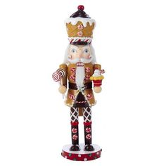Kurt Adler Wooden Gingerbread Nutcracker 16Inch by Kurt Adler ** You can find out more diy home decor ideas at the link of the image.