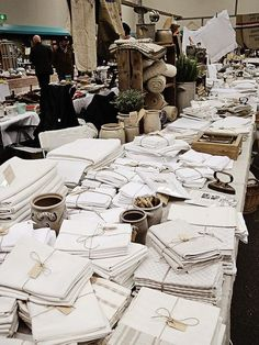 #Vintage French Linen - Loads of The Gorgeous Stuff :)
