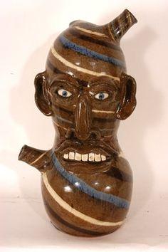 Joe Reinhardt. Double Monkey Spout Jug. : Lot 93
