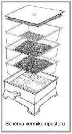 KOMPOSTUJ.CZ: Vermikompostér bytový Garden Cultivator, Worm Castings, Worm Farm, Water Plants, Worms, Spring, Wicker, Aquatic Plants