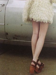Tavi Gevinson by photographer of Rookie magazine, Petra Collins for Oyster Mag---I just got shoes like this Glam Rock, Tavi Gevinson, Pam Pam, Petra Collins, Flatform, Inspiration Mode, Almost Famous, Vogue, Jimi Hendrix