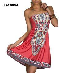 379825e22c4b Womens Boho Style Summer Sundress Tunic Off Shoulder Floral Print Beach  Dress