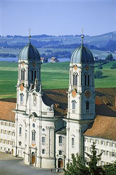 Einsiedeln, Switzerland. Such a beautiful place to visit. I will return one day!