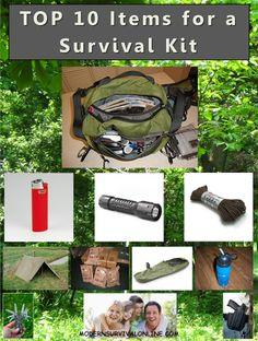 Everyone should have a survival kit. This article provides a suggested Top 10 list of those items that should be in every kit. Of course no one kit will work for everybody or every situation. Gives some ideas. #preparedness   #survival  http://modernsurvivalonline.com/top-10-survival-items-for-a-survival-kit/