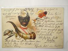 Gaudeamus Igitur 1899 Dunkelhäutiger Student MIT Stürmer Studentika   eBay