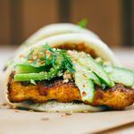 Vegan BBQ Tofu Burger   vegan miam