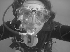 #me #underwater #scubaschoolinternational #ssi # eudi selfie #vintage #latribùdivingacademy