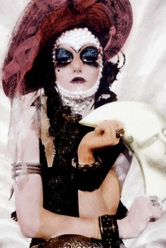 Steven Meisel, The Couturettes, Vogue Italia, September 2006 Glitter Beards, Makeup Books, Clown Faces, Fairytale Fashion, Steven Meisel, Club Kids, Rocky Horror, Costume Makeup, Cabaret
