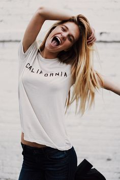 Brandy ♥ Melville | Nikola California Top - Graphics