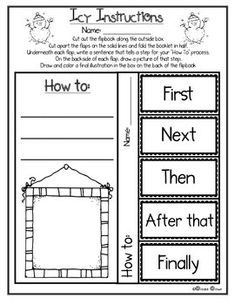 DO YOU WANNA BUILD A SNOWMAN? {FREE HOW TO WRITING FLIPBOOK} - TeachersPayTeachers.com